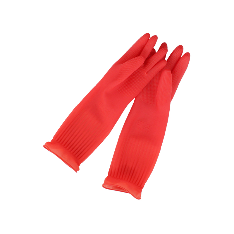 [10개묶음]태화고무장갑(대)L-(RED)
