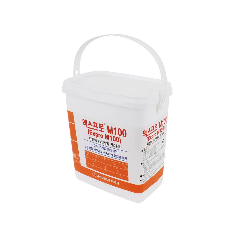 엑스프로M100(시멘트/스케일제거제)-2.5kg